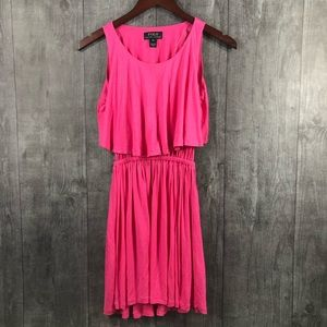 Polo Ralph Lauren Stretchy Layered Pink Dress